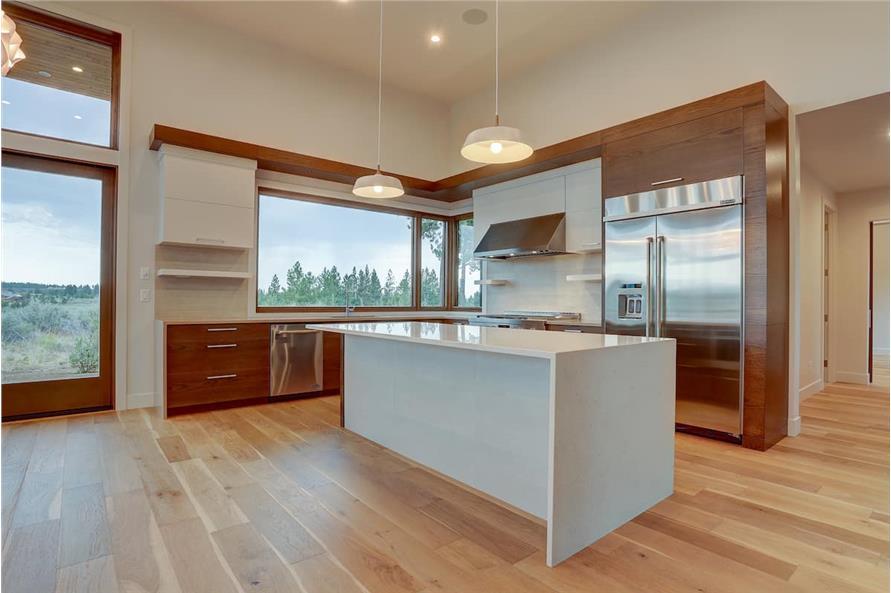 Kitchen: Kitchen Island of this 4-Bedroom,3837 Sq Ft Plan -202-1031