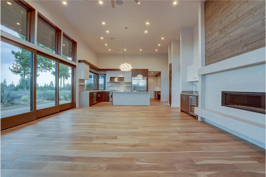 Great Room of this 4-Bedroom,3837 Sq Ft Plan -202-1031