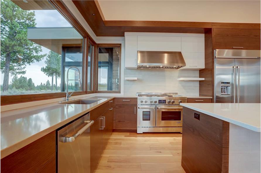 Kitchen of this 4-Bedroom,3837 Sq Ft Plan -202-1031