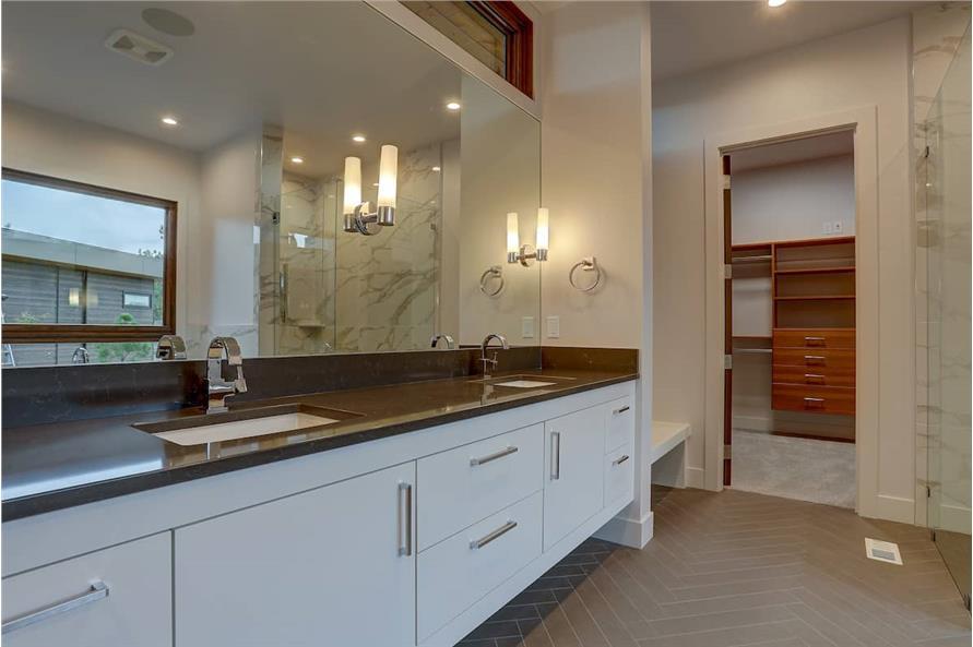 Master Bathroom: Sink/Vanity of this 4-Bedroom,3837 Sq Ft Plan -202-1031