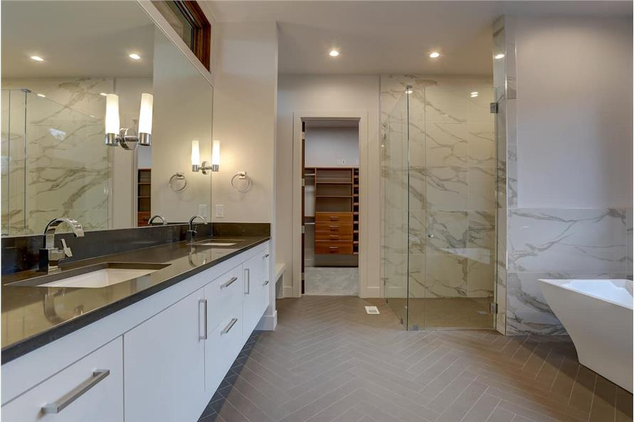 Master Bathroom of this 4-Bedroom,3837 Sq Ft Plan -202-1031