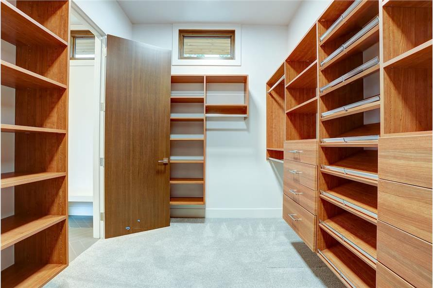 Master Bedroom: Closet of this 4-Bedroom,3837 Sq Ft Plan -202-1031