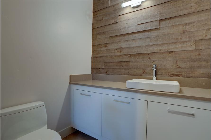 Powder Room of this 4-Bedroom,3837 Sq Ft Plan -202-1031