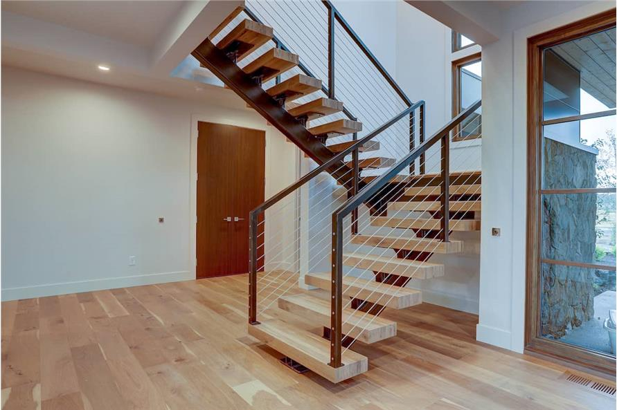 Stairs of this 4-Bedroom,3837 Sq Ft Plan -202-1031