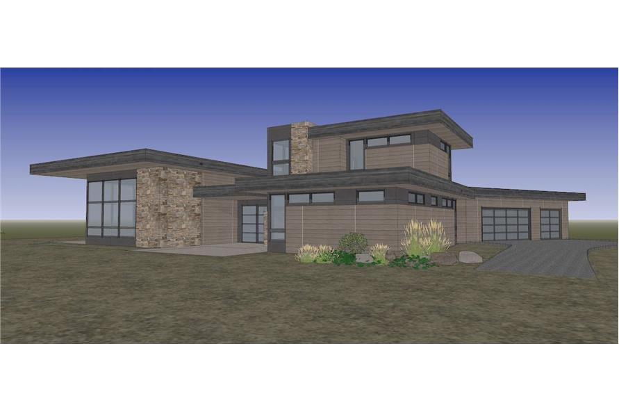 Right View of this 4-Bedroom,3837 Sq Ft Plan -202-1031