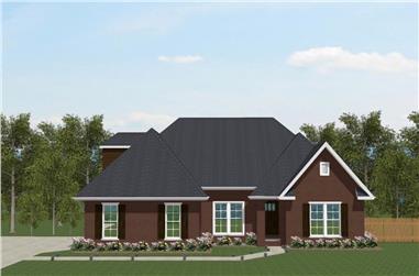3-Bedroom, 2200 Sq Ft European Home - Plan #203-1036 - Main Exterior