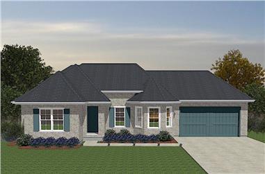 3-Bedroom, 1251 Sq Ft Ranch Home - Plan #203-1038 - Main Exterior