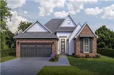 3-Bedroom, 1693 Sq Ft Traditional House - Plan #204-1000 - Front Exterior