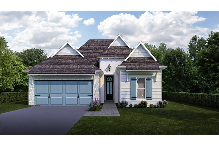 Front View of this 3-Bedroom,1778 Sq Ft Plan -1778