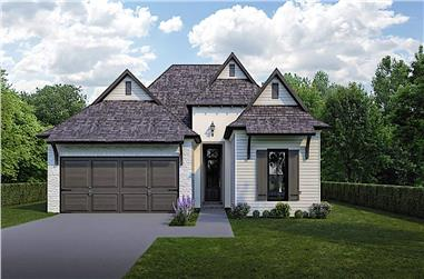 3-Bedroom, 1778 Sq Ft Country House - Plan #204-1001 - Front Exterior