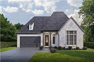 4-Bedroom, 1793 Sq Ft Acadian Home - Plan #204-1002 - Main Exterior