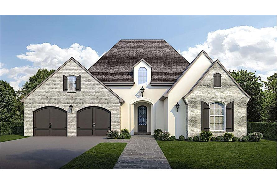 Front View of this 3-Bedroom,1794 Sq Ft Plan -1794