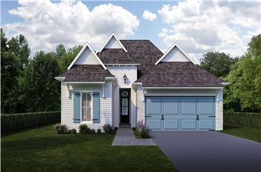 3-Bedroom, 1832 Sq Ft Cottage House - Plan #204-1005 - Front Exterior