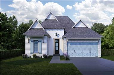4-Bedroom, 2021 Sq Ft European House - Plan #204-1006 - Front Exterior