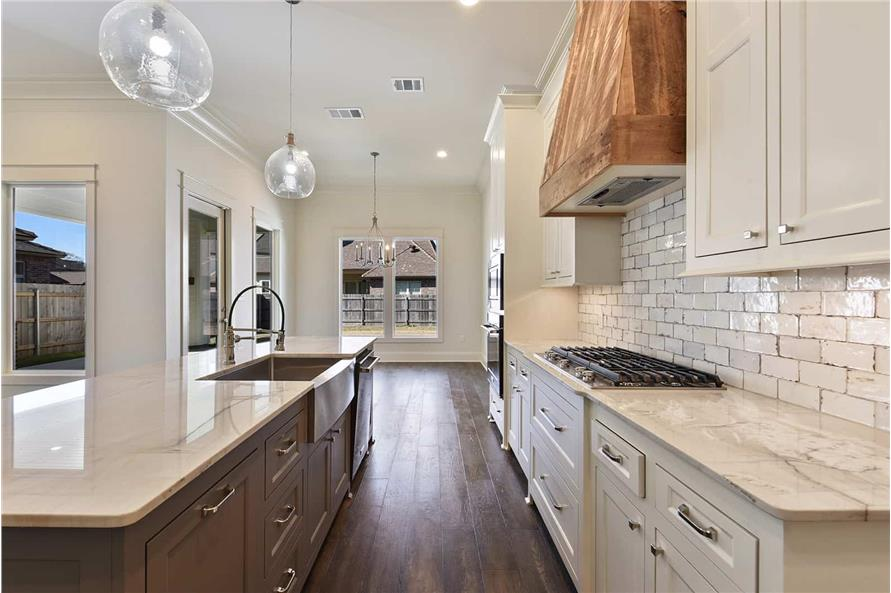 Kitchen of this 4-Bedroom,2179 Sq Ft Plan -2179