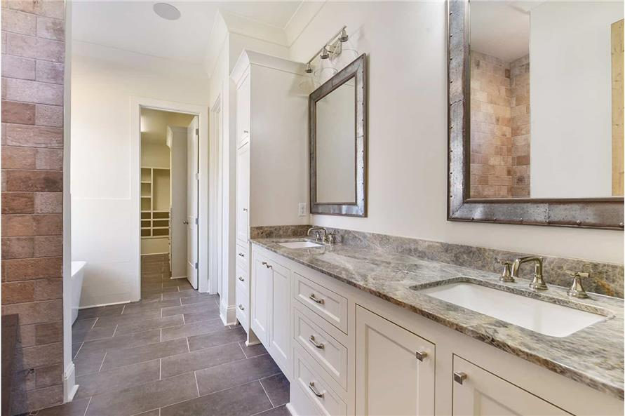 Master Bathroom of this 4-Bedroom,2179 Sq Ft Plan -2179
