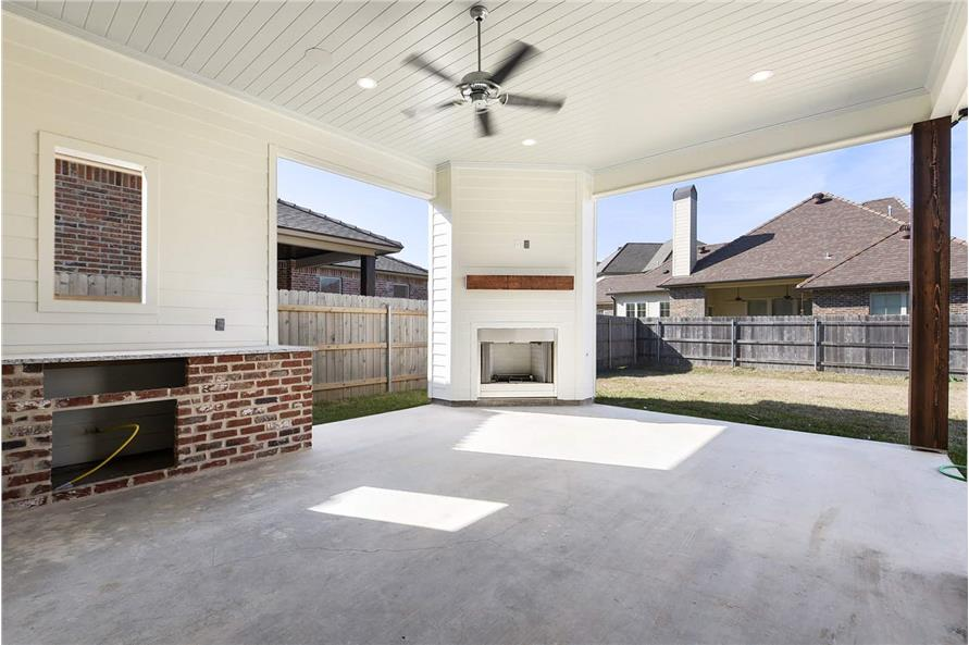 Porch of this 4-Bedroom,2179 Sq Ft Plan -2179