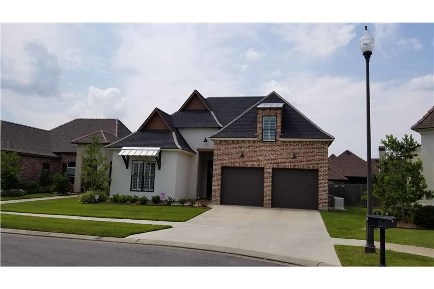 Front View of this 4-Bedroom,2179 Sq Ft Plan -2179