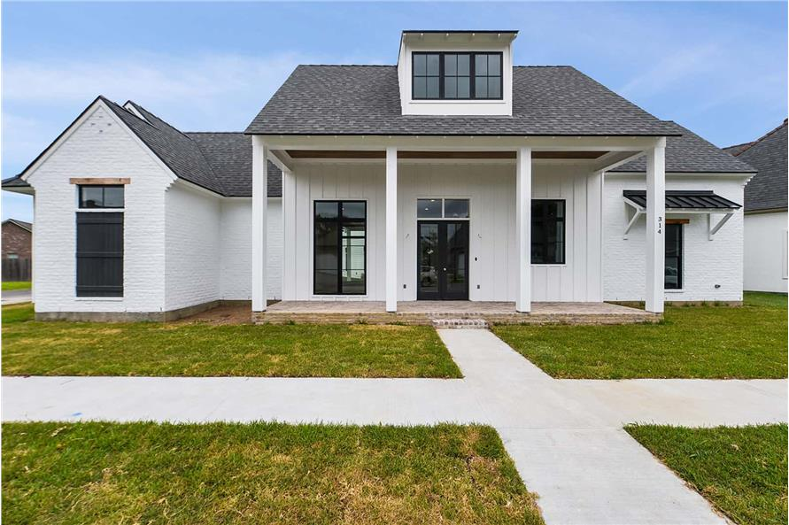 Front View of this 4-Bedroom,2446 Sq Ft Plan -2446