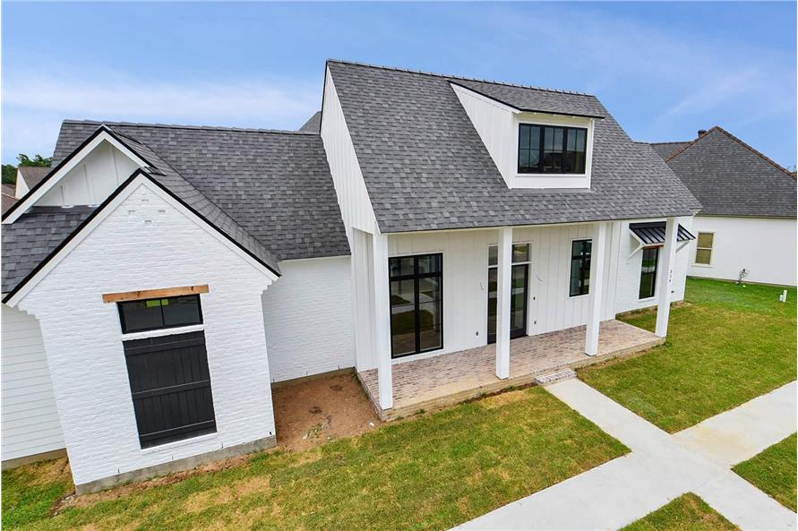 Side View of this 4-Bedroom,2446 Sq Ft Plan -2446