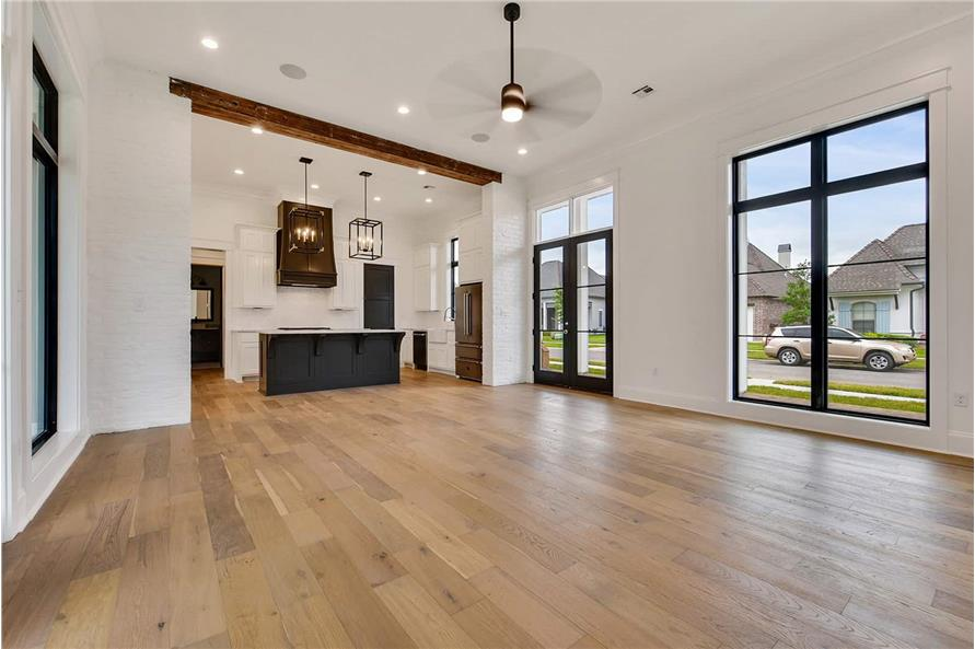 Living Room of this 4-Bedroom,2446 Sq Ft Plan -2446