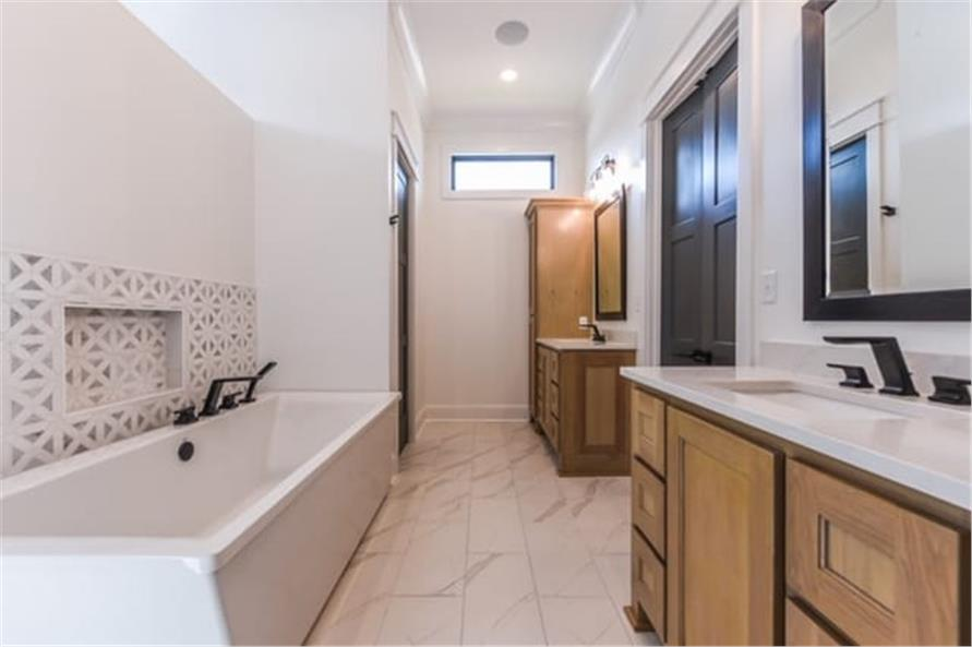 Master Bathroom of this 4-Bedroom,2446 Sq Ft Plan -2446