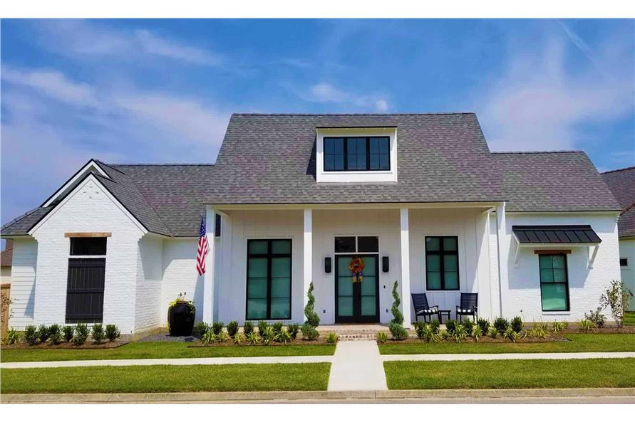 4-Bedroom, 2446 Sq Ft Contemporary Home - Plan #204-1009 - Main Exterior