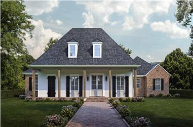 4-Bedroom, 2671 Sq Ft Ranch Home - Plan #204-1011 - Main Exterior