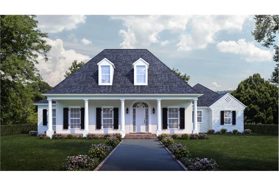 4-Bedroom, 2963 Sq Ft Ranch Home - Plan #204-1014 - Main Exterior
