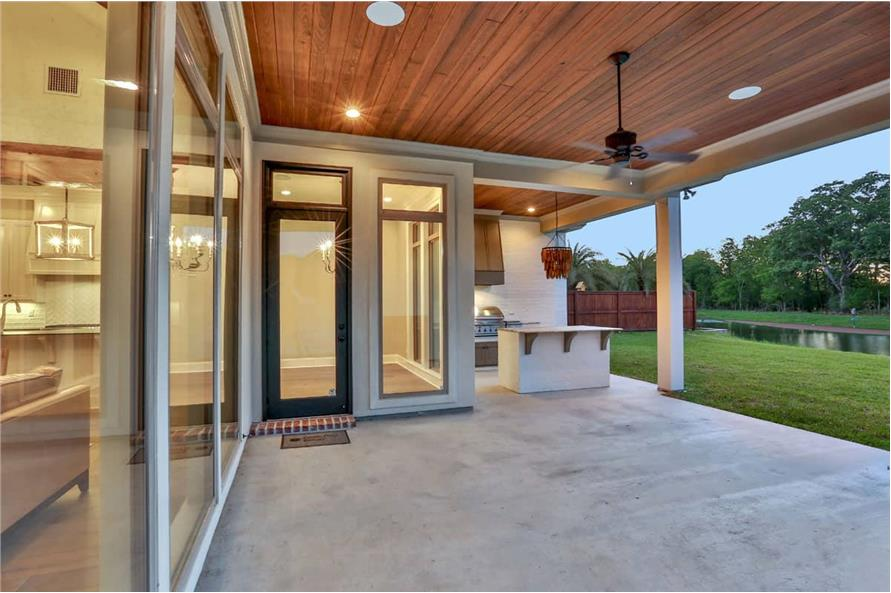 Porch of this 4-Bedroom,3031 Sq Ft Plan -3031