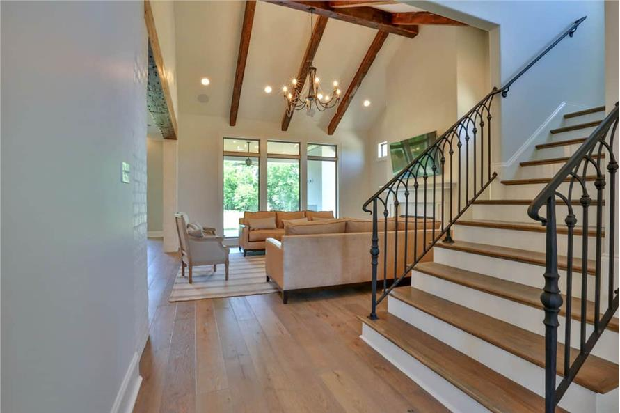 Entry Hall: Staircase of this 4-Bedroom,3031 Sq Ft Plan -3031