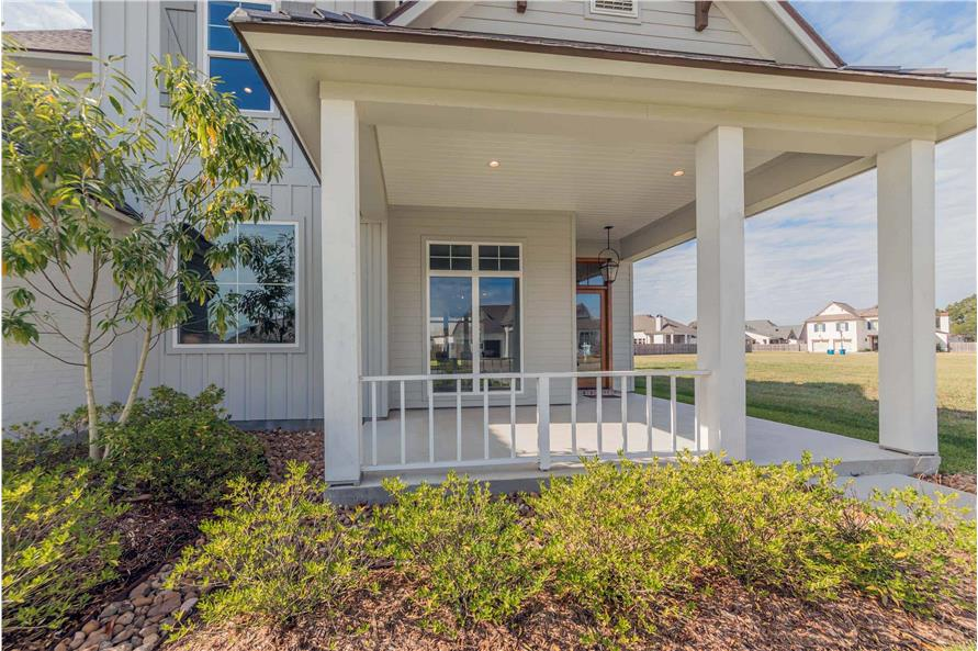 Porch of this 4-Bedroom,3169 Sq Ft Plan -204-1019