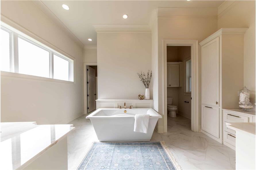 Master Bathroom of this 4-Bedroom,3169 Sq Ft Plan -204-1019