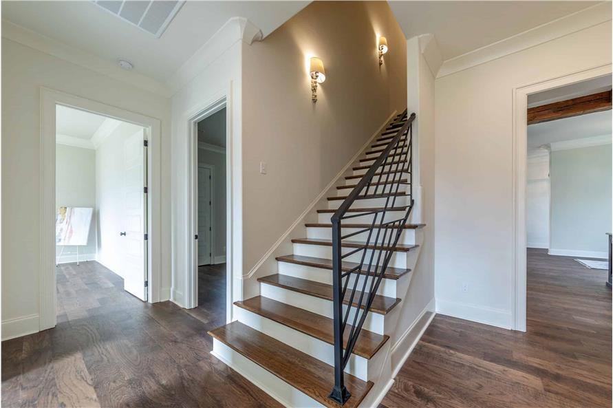 Entry Hall: Staircase of this 4-Bedroom,3169 Sq Ft Plan -204-1019