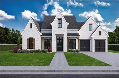 4-Bedroom, 2911 Sq Ft French House - Plan #204-1023 - Front Exterior