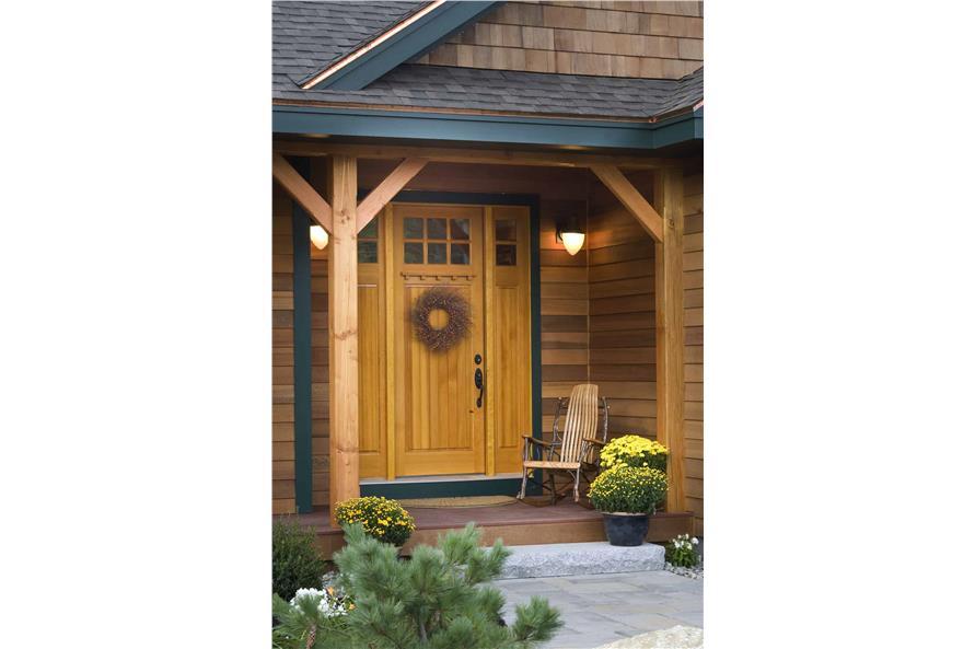 Front Door of this 3-Bedroom,1416 Sq Ft Plan -1416