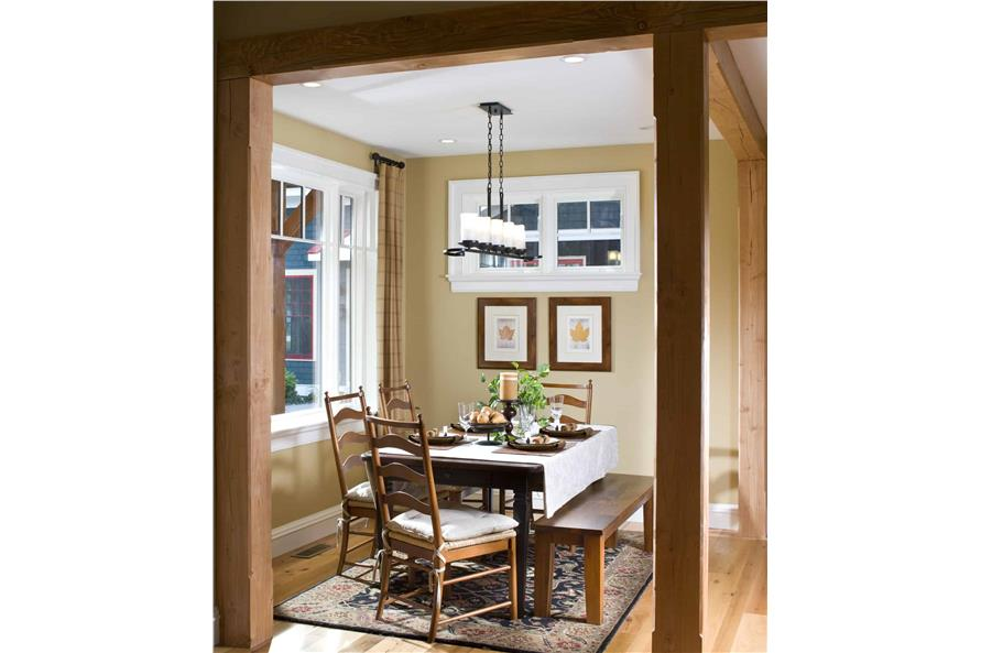 Dining Room of this 3-Bedroom,1416 Sq Ft Plan -1416