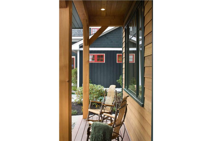 Porch of this 3-Bedroom,1416 Sq Ft Plan -1416