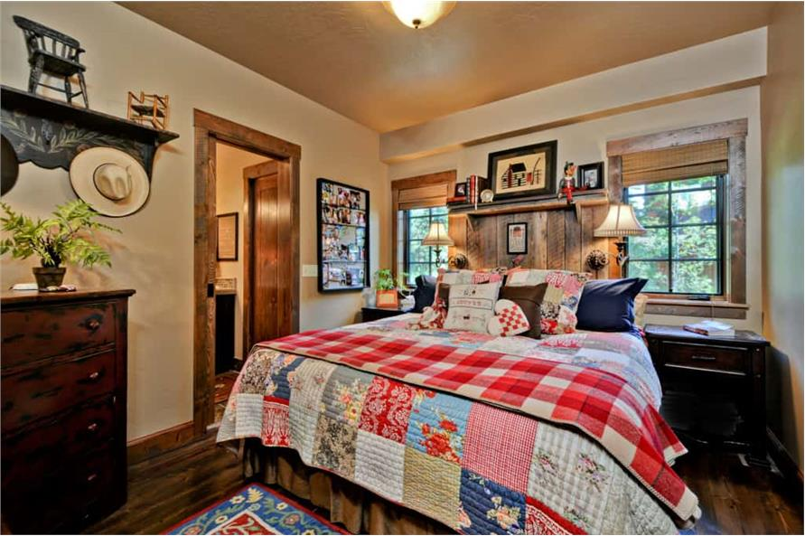 Master Bedroom of this 2-Bedroom,1362 Sq Ft Plan -1362