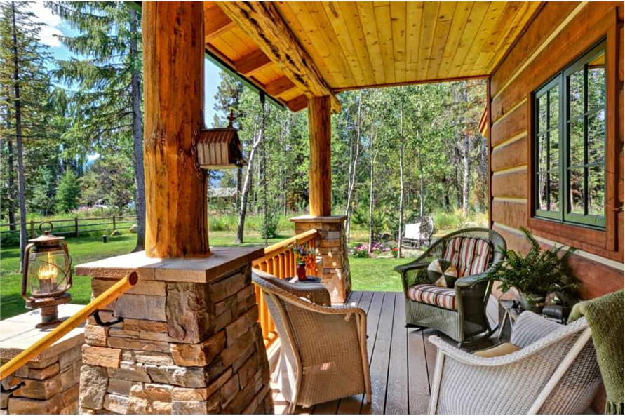 Porch of this 2-Bedroom,1362 Sq Ft Plan -1362
