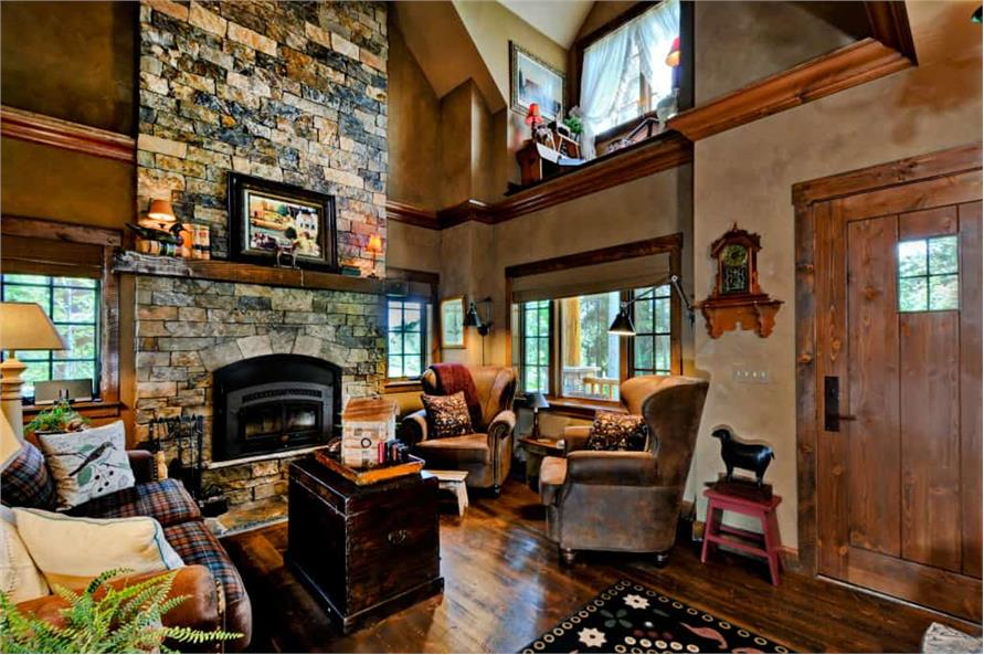 Family Room of this 2-Bedroom,1362 Sq Ft Plan -1362