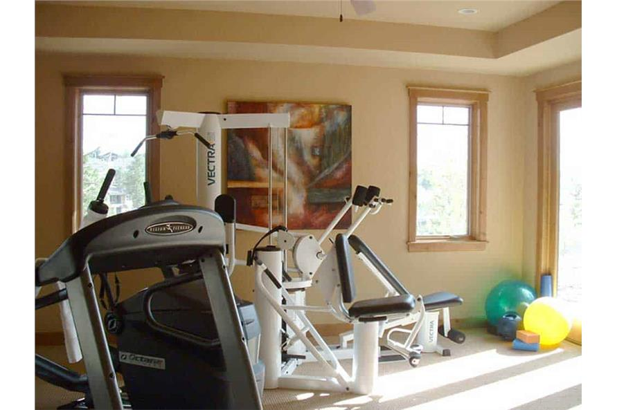 Gym / Fitness Center of this 5-Bedroom,5876 Sq Ft Plan -5876
