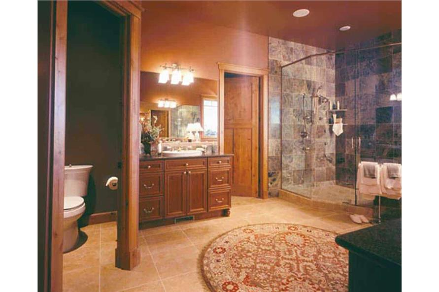Master Bathroom of this 5-Bedroom,5876 Sq Ft Plan -5876