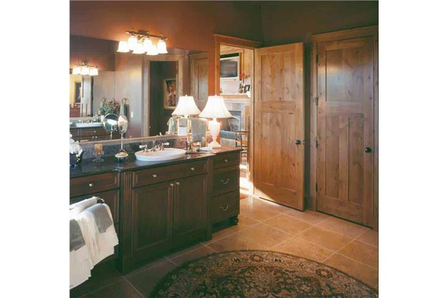 Master Bathroom: Sink/Vanity of this 5-Bedroom,5876 Sq Ft Plan -5876