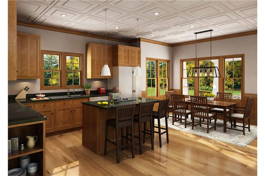 Kitchen of this 3-Bedroom,1825 Sq Ft Plan -1825