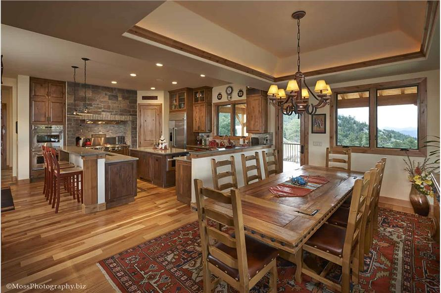 Kitchen of this 4-Bedroom,4960 Sq Ft Plan -4960