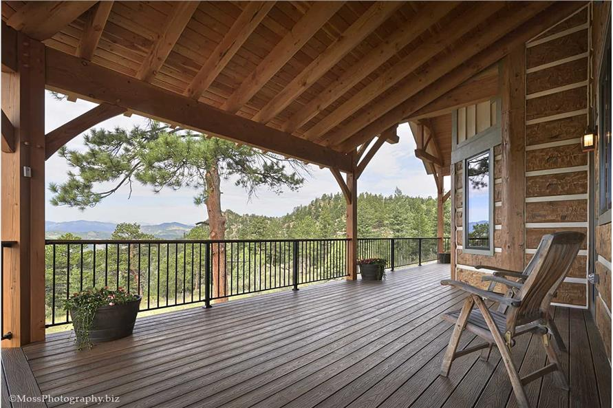 Porch of this 4-Bedroom,4960 Sq Ft Plan -4960