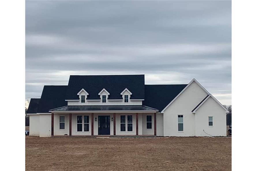 Front View of this 3-Bedroom,2535 Sq Ft Plan -206-1007