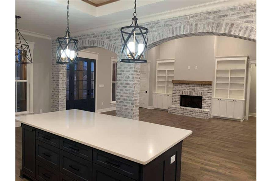 Great Room: Fireplace of this 3-Bedroom,2535 Sq Ft Plan -206-1007