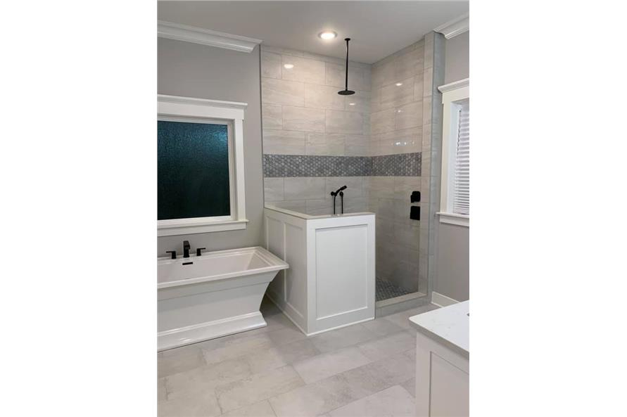 Master Bathroom: Shower of this 3-Bedroom,2535 Sq Ft Plan -206-1007